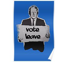 Vote leave! Poster