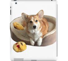 Corgi on his bed iPad Case/Skin