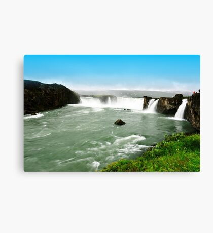 Goðafoss in Iceland Canvas Print