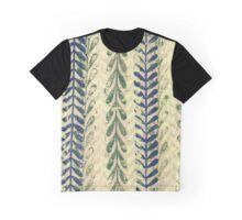 Vine Pattern - Nature Graphic T-Shirt