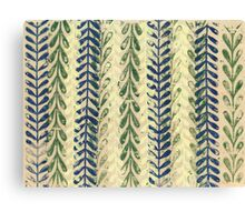 Vine Pattern - Nature Canvas Print