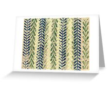 Vine Pattern - Nature Greeting Card