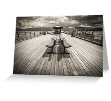 Beaumaris Pier, Anglesey Greeting Card