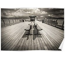 Beaumaris Pier, Anglesey Poster