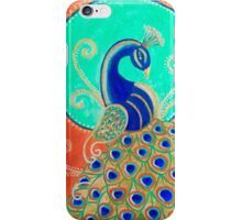 Peacock power iPhone Case/Skin