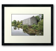 Mill on the Fleet Framed Print