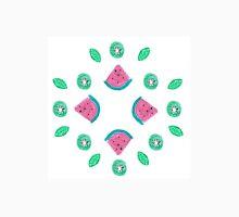 Watermelon and kiwi pattern Unisex T-Shirt