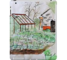 Watercolour Garden iPad Case/Skin