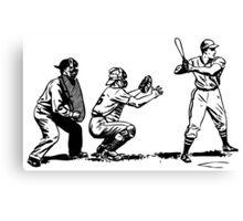 Baseball player bat Canvas Print