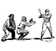Baseball player bat Photographic Print