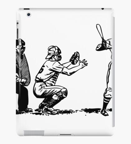 Baseball player bat iPad Case/Skin