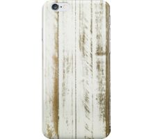 white wood rustic planks iPhone Case/Skin