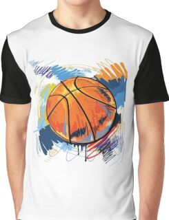 Basketball graffiti art Graphic T-Shirt