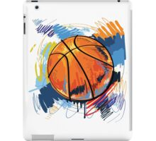 Basketball graffiti art iPad Case/Skin