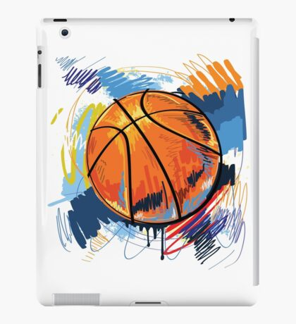 Basketball graffiti art iPad Case/Skin
