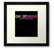 Ghost Brides Framed Print