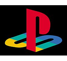 Playstation logo Photographic Print