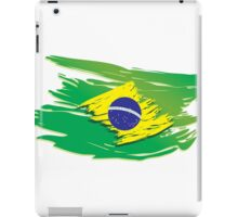 Brazil flag stylized iPad Case/Skin
