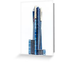 Eureka Tower by Gaye G Greeting Card