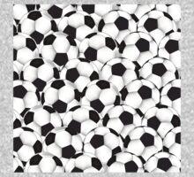 Huge collection of soccer balls Kids Tee