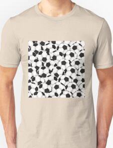 Huge collection of soccer balls Unisex T-Shirt