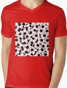 Huge collection of soccer balls Mens V-Neck T-Shirt