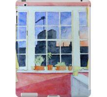 Watercolour Window (Islington Flat) iPad Case/Skin