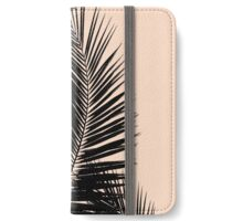 Palms on Pale Pink iPhone Wallet/Case/Skin