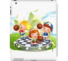 Basketball sport kids art iPad Case/Skin