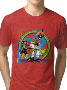 Water skiers Tri-blend T-Shirt