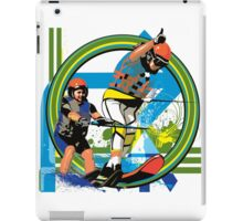 Water skiers iPad Case/Skin