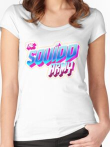 SQUID ARMY  Women's Fitted Scoop T-Shirt