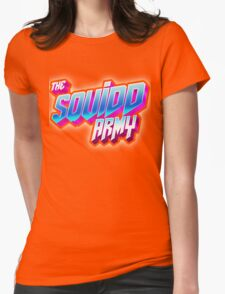 SQUID ARMY  Womens Fitted T-Shirt