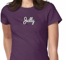 Peanut Butter Jelly Time!!! and a Baseball Bat? Womens Fitted T-Shirt