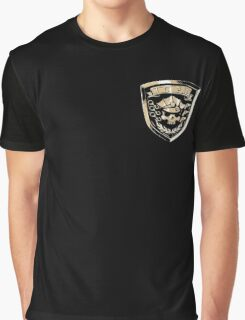 Inferno Cop Police Department - Corner Print Graphic T-Shirt