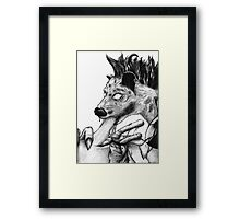 The pathfinder Chronicle 3 - Gnoll Framed Print