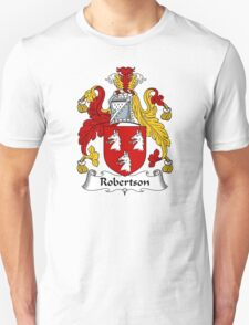 Robertson Coat of Arms / Robertson Family Crest Unisex T-Shirt