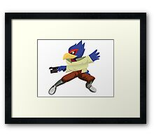 Falco - Super Smash Brothers Melee Nintendo Framed Print