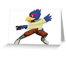 Falco - Super Smash Brothers Melee Nintendo Greeting Card