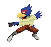 Falco - Super Smash Brothers Melee Nintendo Photographic Print