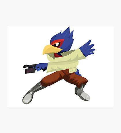 Falco - Super Smash Brothers Melee Nintendo Photographic Print
