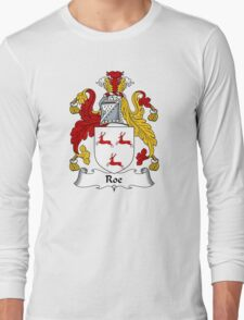 Roe Coat of Arms / Roe Family Crest Long Sleeve T-Shirt