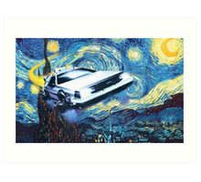 Back to the Starry Night Art Print