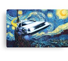 Back to the Starry Night Canvas Print