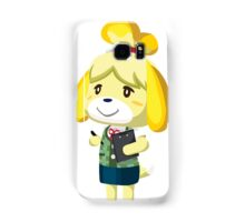 Isabelle Animal Crossing New Leaf Vector Print Samsung Galaxy Case/Skin
