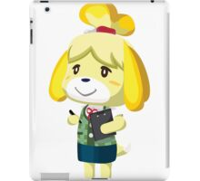 Isabelle Animal Crossing New Leaf Vector Print iPad Case/Skin