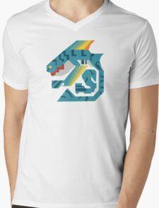Zamtrios Monster Hunter Print Mens V-Neck T-Shirt