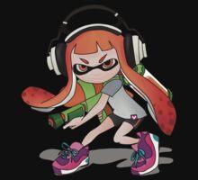 Splatoon Squid kid Nintendo Print Kids Tee