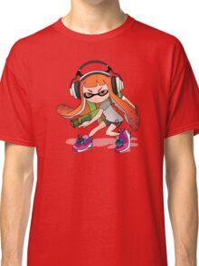 Splatoon Squid kid Nintendo Print Classic T-Shirt