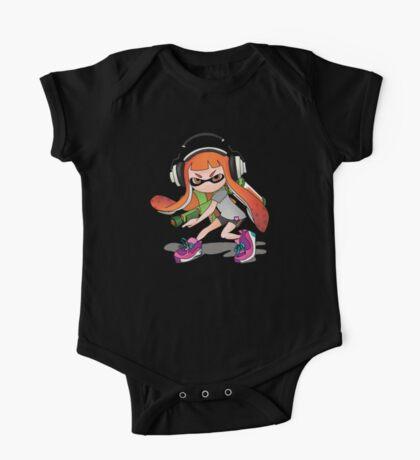 Splatoon Squid kid Nintendo Print One Piece - Short Sleeve